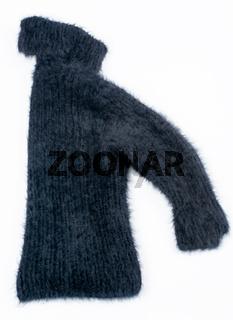 Angora Pullover auf Weißen Hintergrund freigestellt