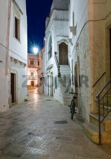 Gassen Locorotondo, Apulien