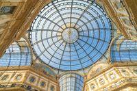 Galleria Vittorio Emanuele II in Milan, Italy.