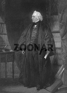 Joseph Story, 1779 - 1845, an American lawyer and jurist