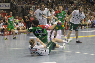 DKB Handball-Bundesliga 2013-2014, 13. Spieltag, SC Magdeburg - HSG Wetzlar