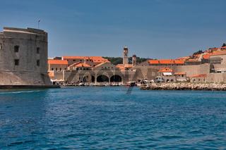 Die schöne Altstadt von Dubrovik in Kroatien