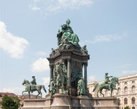 Monument to empress Maria Theresa in Vienna