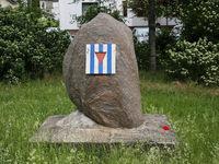 Denkmal für die Opfer des Todesmarsches von KZ-Häftlingen durch Magdeburg im April 1945