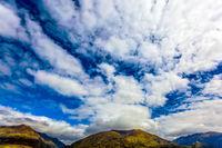 The blue sky of Australia