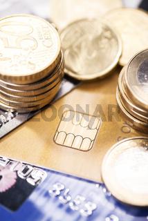 Chip auf einer Smartcard