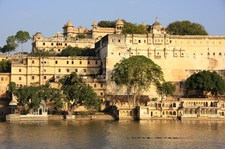 City Palace complex, Udaipur, Rajasthan, India