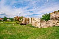 Inside of Alba Carolina Citadel