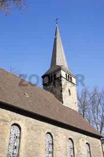 Pauluskirche in der Innenstadt von Bochum, Deutschland