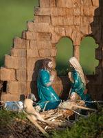 weihnachtskrippe im Münsterland