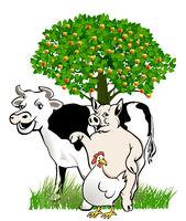 Kuh. Schwein, Huhn Kopie.eps