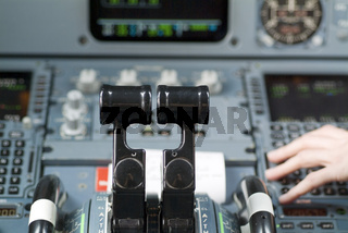 Cockpit Airbus A320
