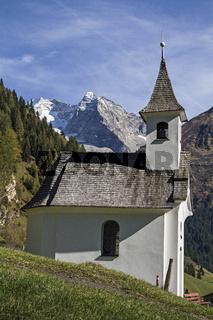 Kapelle im Valser Tal