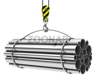 the metal tubes
