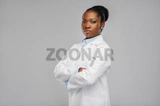 african american female doctor or scientist