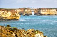 rough coast at the Great Ocean Road Australia