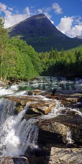 Wasserfall im Isterdalen