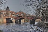 Brücke über den Fluss Nahe
