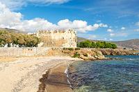 The Bourtzi of Karystos in Evia island, Greece