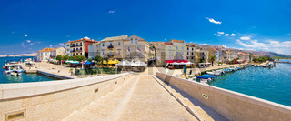 Island town of Pag panorama