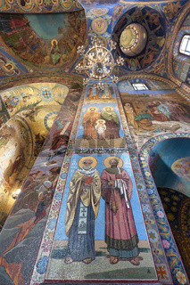 St. Petersburg Russia. The Church of the Savior on Spilled Blood