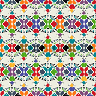 Hungarian embroidery pattern 18