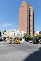Cordoba Argentina old brick skyscraper