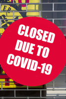 Shop closed for COVID-19