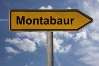 Wegweiser Montabaur | signpost Montabaur