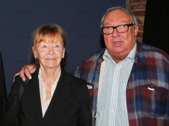 deutsche Schauspieler Jutta Hoffmann und Jaecki Schwarz Filmveranstaltung in Magdeburg am 09.09.2020