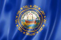 New Hampshire flag, USA