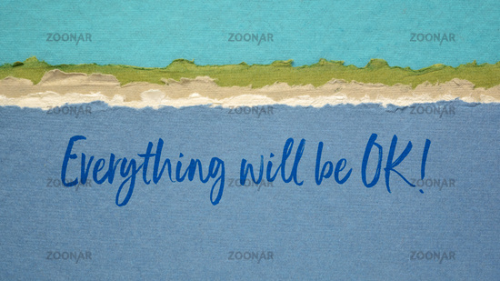everything will be OK - positive affirmation