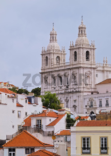 Saint Vincent Church in Lisbon