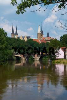 Schloss und Dom Merseburg, Sachsen-Anhalt, Deutschland