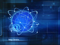 Global Information Society, abstract techno backgrounds for your design