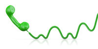 The Green handset