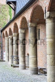 Wasserschloss Herten, NRW, Deutschland