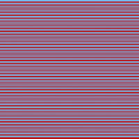 Horizontal stripes in light blue and red