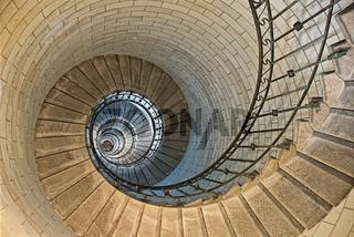 Leuchtturm-Spirale
