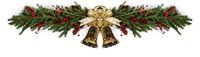 Jingle bells Christmas fir decoration