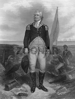 William Moultrie, 1730 - 1805, a general from South Carolina in the American Revolutionary War