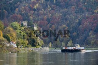 Burg Werfenstein, St. Nikola an der Donau, Struden, Oberösterreich, Österreich