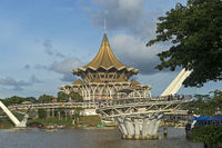 Gebäude des Parlaments von Sarawak