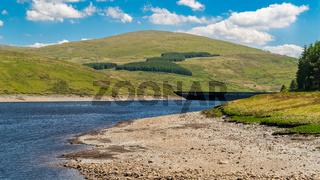 Nant-y-Moch Reservoir, Ceredigion, Dyfed, Wales, UK