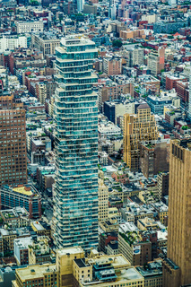 The view from the One World Trade Center Building