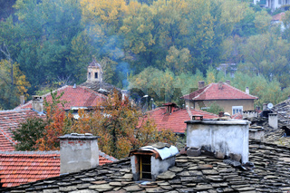 Roofs of Old Town of Lovech