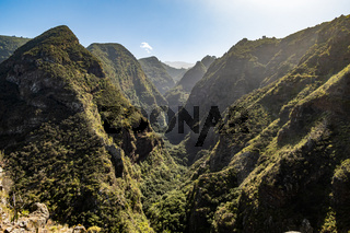 Schlucht auf La Palma, Kanarische Inseln, Spanien, ravine on La Palma, Canary Islands, Spain