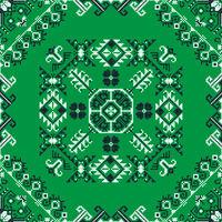 Romanian traditional pattern 201