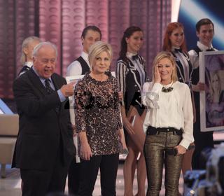 Sängerin Helene Fischer,Carmen Nebel,Wolfang Rademacher 'Willkommen bei Carmen Nebel' 2013