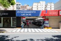Cordoba Argentina secure parking entrance